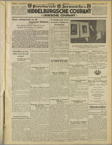 Middelburgsche Courant 1939-10-28