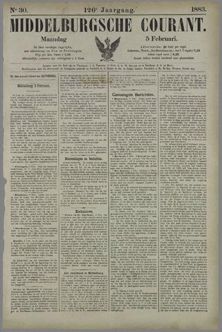 Middelburgsche Courant 1883-02-05