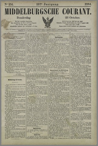 Middelburgsche Courant 1884-10-23