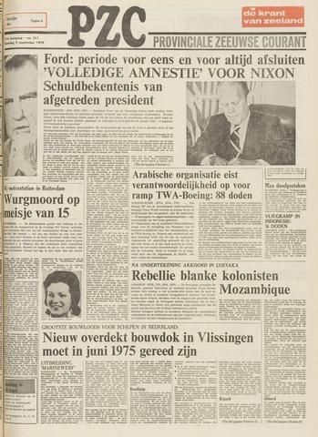 Provinciale Zeeuwse Courant 1974-09-09