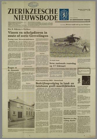 Zierikzeesche Nieuwsbode 1981-02-16