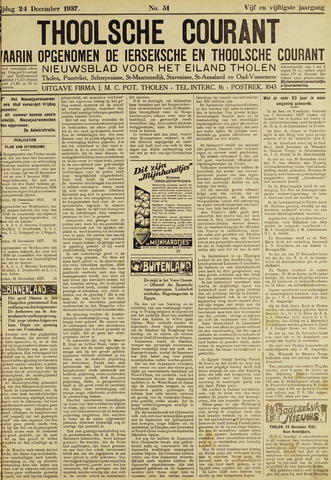 Ierseksche en Thoolsche Courant 1937-12-24