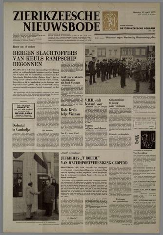 Zierikzeesche Nieuwsbode 1975-04-21