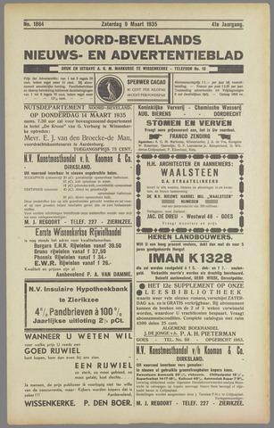 Noord-Bevelands Nieuws- en advertentieblad 1935-03-09