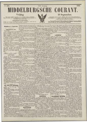 Middelburgsche Courant 1901-09-13