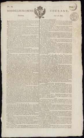 Middelburgsche Courant 1814-05-28