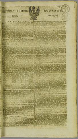 Middelburgsche Courant 1817-06-14