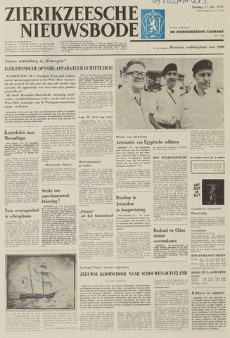 Zierikzeesche Nieuwsbode 1973-07-17