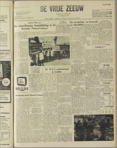 de Vrije Zeeuw 1962-04-11