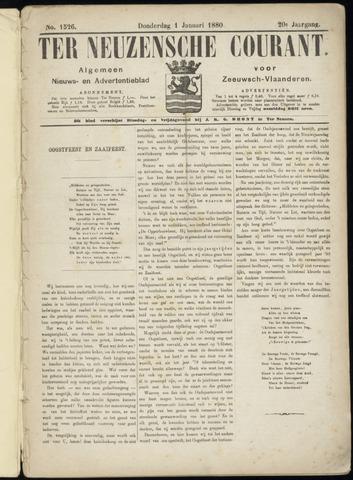 Ter Neuzensche Courant. Algemeen Nieuws- en Advertentieblad voor Zeeuwsch-Vlaanderen / Neuzensche Courant ... (idem) / (Algemeen) nieuws en advertentieblad voor Zeeuwsch-Vlaanderen 1880-01-01