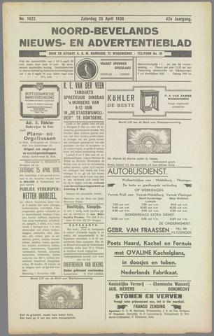 Noord-Bevelands Nieuws- en advertentieblad 1936-04-25