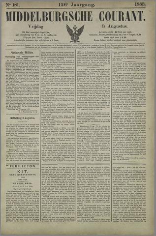 Middelburgsche Courant 1883-08-03