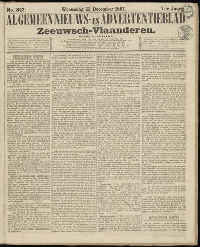 Ter Neuzensche Courant. Algemeen Nieuws- en Advertentieblad voor Zeeuwsch-Vlaanderen / Neuzensche Courant ... (idem) / (Algemeen) nieuws en advertentieblad voor Zeeuwsch-Vlaanderen 1867-12-11