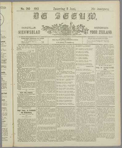 De Zeeuw. Christelijk-historisch nieuwsblad voor Zeeland 1912-06-08