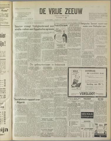 de Vrije Zeeuw 1958-02-21
