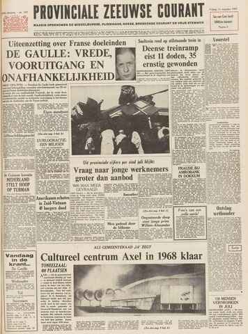 Provinciale Zeeuwse Courant 1967-08-11
