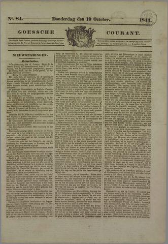 Goessche Courant 1843-10-19