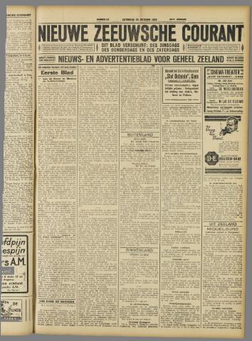 Nieuwe Zeeuwsche Courant 1928-10-20
