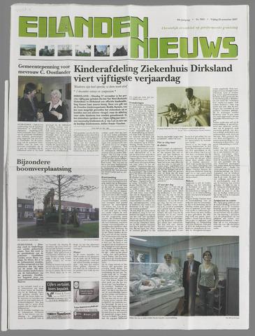 Eilanden-nieuws. Christelijk streekblad op gereformeerde grondslag 2007-11-23