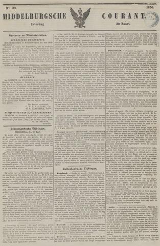 Middelburgsche Courant 1850-03-30