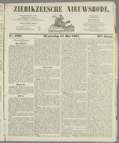 Zierikzeesche Nieuwsbode 1863-05-13
