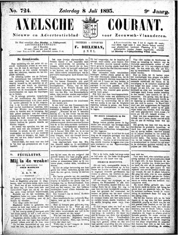 Axelsche Courant 1893-07-08