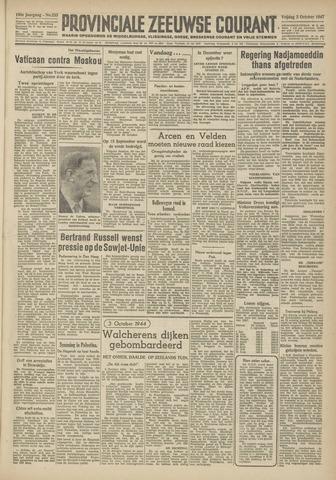 Provinciale Zeeuwse Courant 1947-10-03