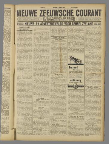 Nieuwe Zeeuwsche Courant 1925-03-03