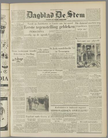 de Stem 1954-04-28