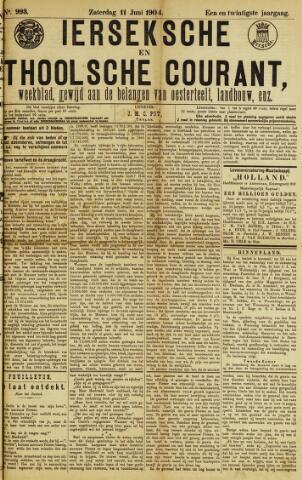 Ierseksche en Thoolsche Courant 1904-06-11