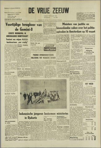 de Vrije Zeeuw 1966-03-18