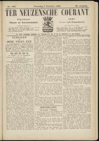 Ter Neuzensche Courant. Algemeen Nieuws- en Advertentieblad voor Zeeuwsch-Vlaanderen / Neuzensche Courant ... (idem) / (Algemeen) nieuws en advertentieblad voor Zeeuwsch-Vlaanderen 1880-12-08