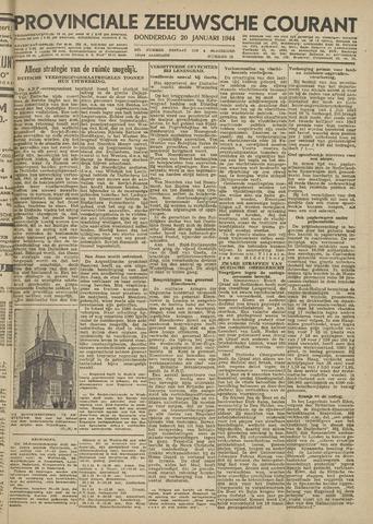 Provinciale Zeeuwse Courant 1944-01-20