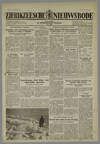Zierikzeesche Nieuwsbode 1955-02-01
