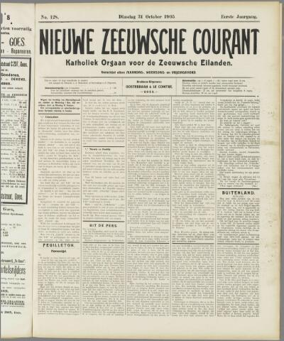 Nieuwe Zeeuwsche Courant 1905-10-31