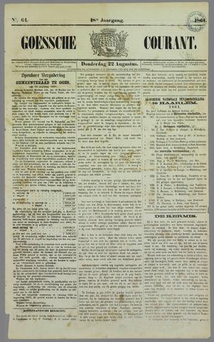 Goessche Courant 1861-08-22
