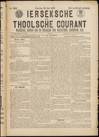 Ierseksche en Thoolsche Courant 1917-06-23