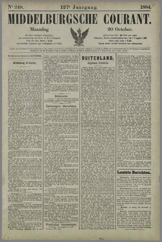 Middelburgsche Courant 1884-10-20