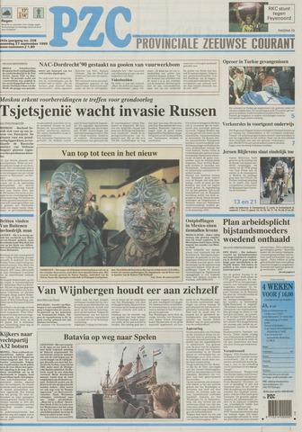 Provinciale Zeeuwse Courant 1999-09-27