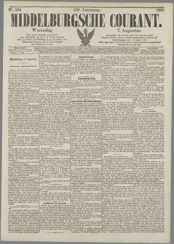 Middelburgsche Courant 1895-08-07