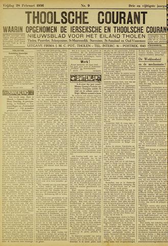 Ierseksche en Thoolsche Courant 1936-02-28