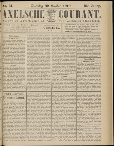 Axelsche Courant 1910-10-29