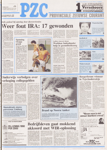 Provinciale Zeeuwse Courant 1990-06-11