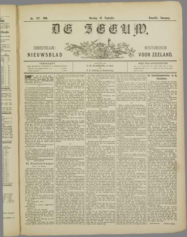 De Zeeuw. Christelijk-historisch nieuwsblad voor Zeeland 1898-09-13