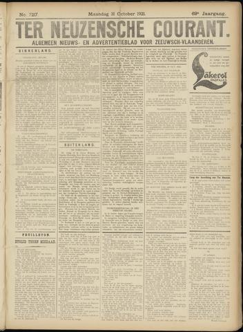 Ter Neuzensche Courant. Algemeen Nieuws- en Advertentieblad voor Zeeuwsch-Vlaanderen / Neuzensche Courant ... (idem) / (Algemeen) nieuws en advertentieblad voor Zeeuwsch-Vlaanderen 1921-10-31