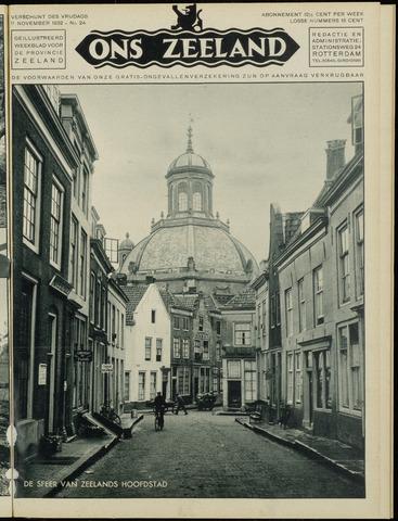 Ons Zeeland / Zeeuwsche editie 1932-11-11