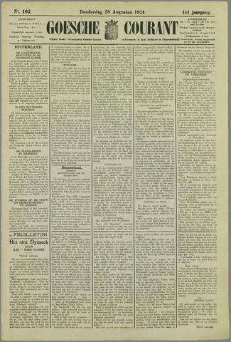 Goessche Courant 1924-08-28