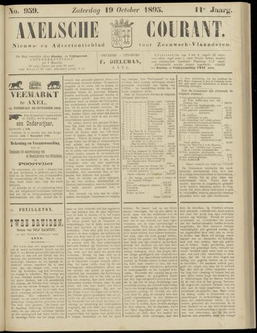 Axelsche Courant 1895-10-19