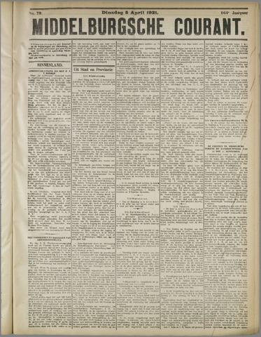 Middelburgsche Courant 1921-04-05