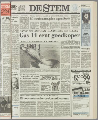 de Stem 1986-11-11